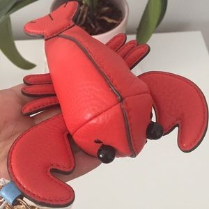 Tory Burch lobsters key chain
